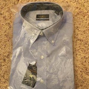 NWT Club Room Wrinkle Resistant Estate Dress Shirt